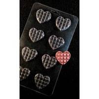 Пластиковая форма для шоколада Шоколадное сердце