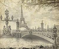 Фотообои 3DFotooboi виниловые на флизелиновой основе Романтика Парижа (10422)