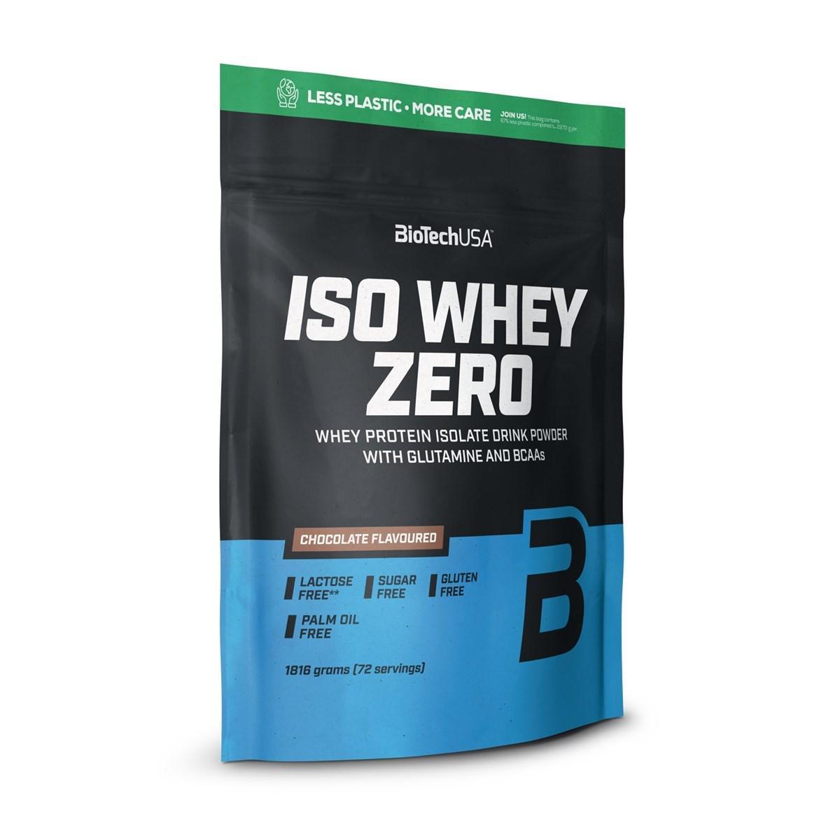 Протеин Biotech Iso Whey Zero 500g клубника