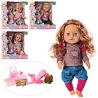 Кукла 317013-13-5-13B7-B15 с аксессуарами - детский игровой набор