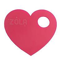 ZOLA Палитра для смешивания Сердце