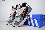 Кросівки в стилі Adidas Yung 1 сірі, фото 2