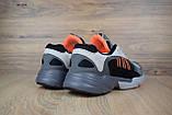 Кросівки в стилі Adidas Yung 1 сірі, фото 6