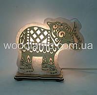 Соляной светильник Слон большой