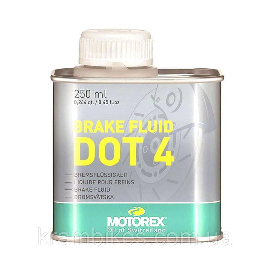 Жидкость тормозная Motorex - Brake Fluid DOT 4