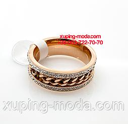 Xuping кольцо. Кольцо с цепочкой