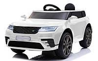 Електромобіль (Электромобиль)  T-7834 EVA WHITE (1шт) джип на Bluetooth 2.4G Р/К 12V4.5AH мотор 2*20W З MP3 11