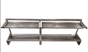 Полка-сушка для посуды 2-х уровневая GMS 1600х325х590