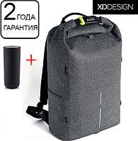 "Оригинал! Гарантия 2 года. Антивор рюкзак  для ноутбука XD Design Bobby Urban Grey 15.6"" (P705.642), фото 1"