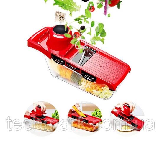 Тёрка-овощерезка 6 in 1 c контейнером Mandoline Slicer