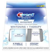 Crest Отбеливающие полоски для зубов и укрепление эмали 3D White Whitestrips Whitening Therapy Teeth