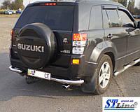 Suzuki Grand Vitara II (05-12) защитная дуга защита заднего бампера на для Сузуки Гранд Витара Suzuki Grand Vitara II (05-12) углы d60х1,6мм