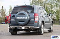 Suzuki Grand Vitara II (05-12) защитная дуга защита заднего бампера на для Сузуки Гранд Витара Suzuki Grand Vitara II (05-12) d60х1,6мм