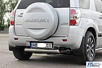 Suzuki Grand Vitara II (05-12) защитная дуга защита заднего бампера на для Сузуки Гранд Витара Suzuki Grand Vitara II (05-12) 3-Д d60х1,6мм