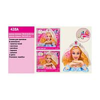 Набор Кукла-модель для причесок и макияжа с аксессуарами  438A