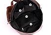 Рюкзак женский кожзам Nicole черный, фото 7