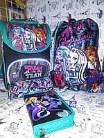 Набор Kite для девочки Monster High рюкзак ,пенал, сумка + Подарок Пенал-косметичка, фото 1