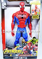 Фигурка Супер героя Человек Паук / Spider Марвел- Мстители Большая 30 СМ ( Свет, Музика ) Отличное Качество !