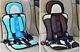 Автокресло детское бескаркасное портативное Baby Car Seat, фото 9