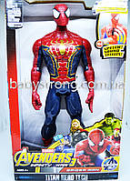 Фигурка Супер героя Человек Паук /Spider Марвел- Мстители Большая 30 СМ ( Свет, Музика ) Отличное Качество !