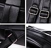 Рюкзак женский кожаный Сlassik Черный, фото 7