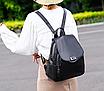 Рюкзак женский кожаный Сlassik Черный, фото 10