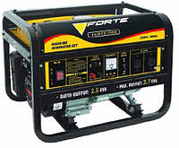 Генератор бензиновый Forte 15 л 2.5 кВт FG3500