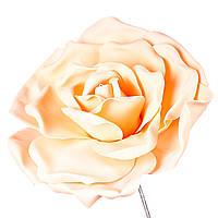 Большие цветы для декора фотозоны. персиковый 22х25 см