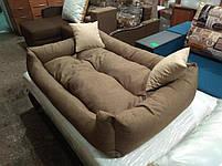 Диван лежанка Premium для больших собак всех  130 х 90 см.Лежанка,Лежаки,лежак,лежак для кошки,лежак, фото 3