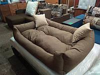 Диван лежанка Premium для больших собак всех  130 х 90 см.Лежанка,Лежаки,лежак,лежак для кошки,лежак, фото 5
