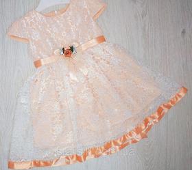 Платье для девочки, Турция, Babexi, рр. 1-2, 2-3 года, арт. 7568-1,