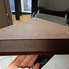 Колпак на забор коричневый мат.0.45, фото 3