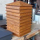 Колпак на забор коричневый мат.0.45, фото 5