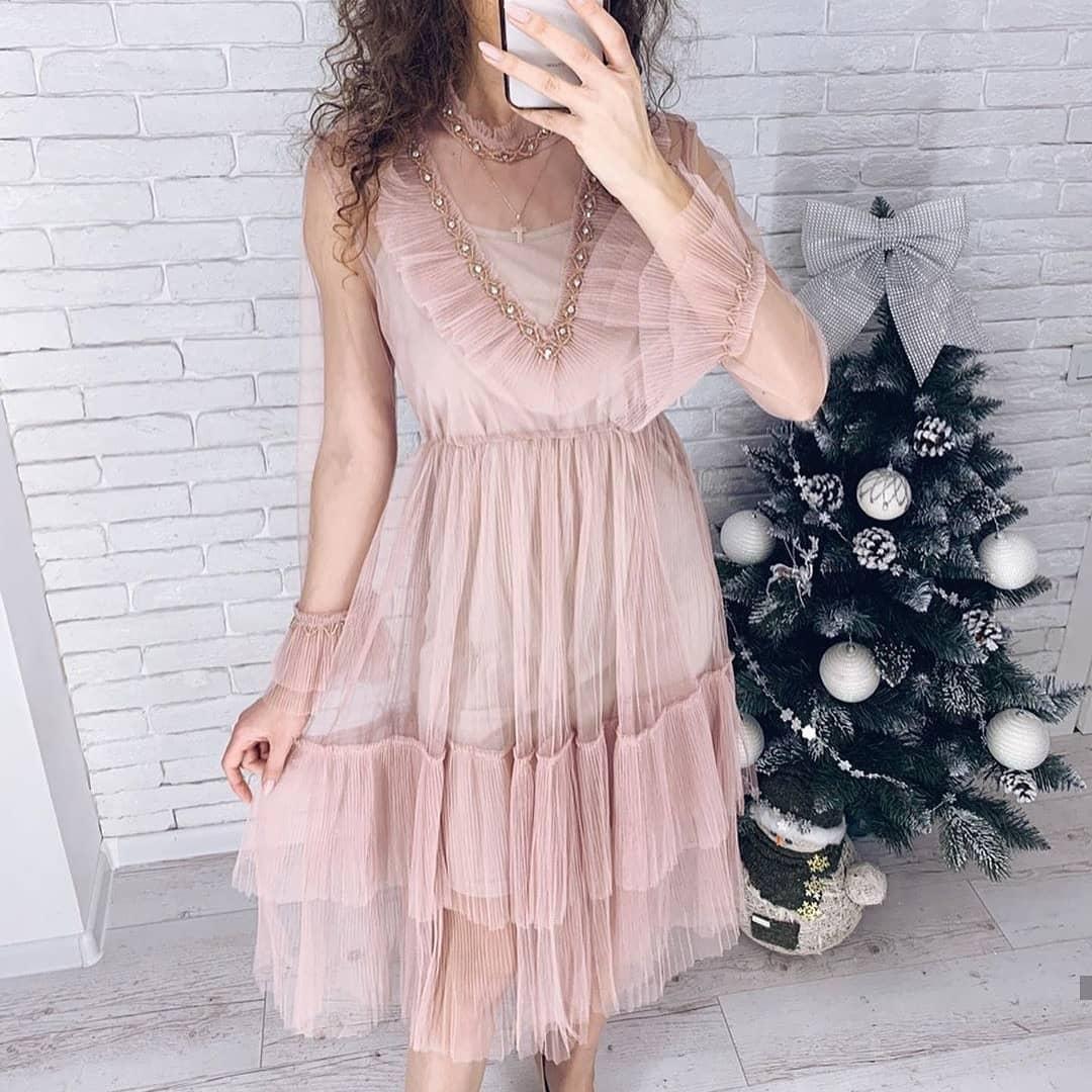 Нарядное платье вечернее 42-46 (в расцветках)
