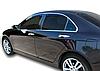 Дефлектори вікон вставні Honda Accord 2002-2008 4D Sedan