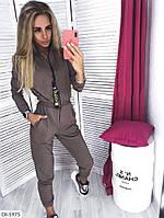 Женский модный комбинезон двунить