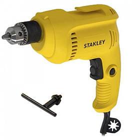 Дрель электрическая безударная STANLEY 550 Вт 10 мм патрон ключевой STDR5510
