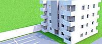 Квартира в центре города Бар в малоквартирном доме со своей прилегающей территорией