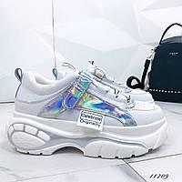Женские кроссовки на платформе, 37 размер
