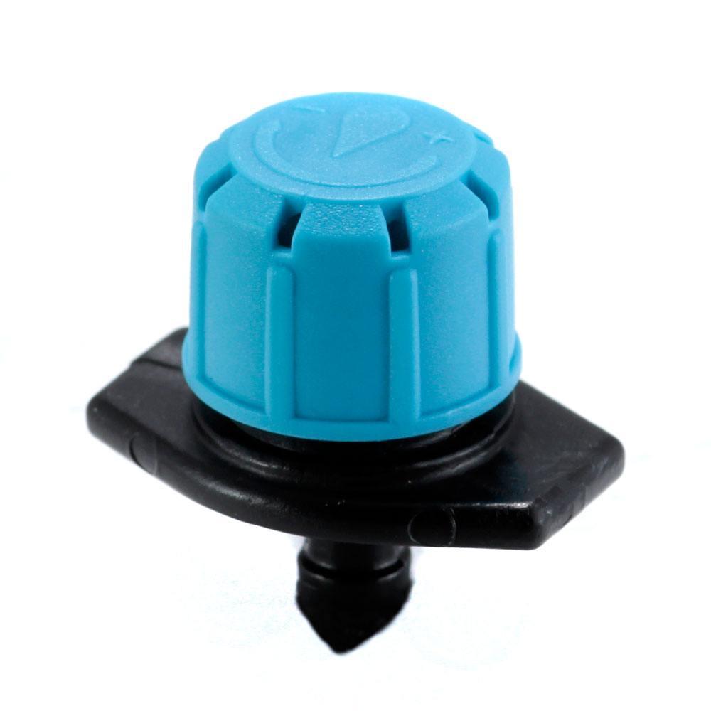Капельница садовая Presto-PS регулируемая 0-80 л/ч, в упаковке - 10 шт. (7703)