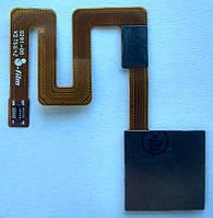 Шлейф для Xiaomi Redmi Note 4, для сканера отпечатка пальца (Touch ID), черная