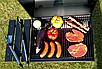 Большой садовой гриль, мангал, барбекю LUND, фото 10