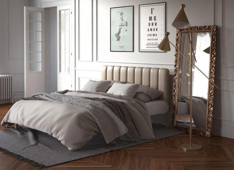 Металлическая кровать Фуксия (с доставкой)