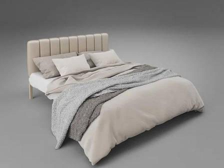 Металлическая кровать Фуксия (с доставкой), фото 2