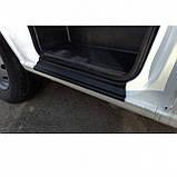 Пластиковые защитные накладки на пороги для Citroen Jumper I 1994-2006, фото 3