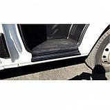 Пластиковые защитные накладки на пороги для Citroen Jumper I 1994-2006, фото 4