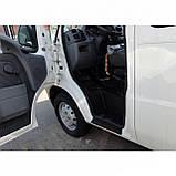 Пластиковые защитные накладки на пороги для Citroen Jumper I 1994-2006, фото 5