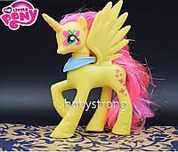 Фигурка Пони 14 СМ My Little Pony Флаттершай Мой маленький пони Игрушка для девочек Единорог