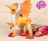 Фигурка Пони 14 СМ My Little Pony Эпл Джек Мой маленький пони Игрушка для девочек Единорог