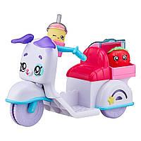 Скутер для кукол Кинди КидсKindi Kids Fun Delivery Scooter and 2 Shopkins